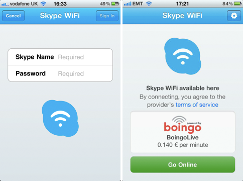 Skype WiFi app offers cheap iPhone and iPad internet access abroad