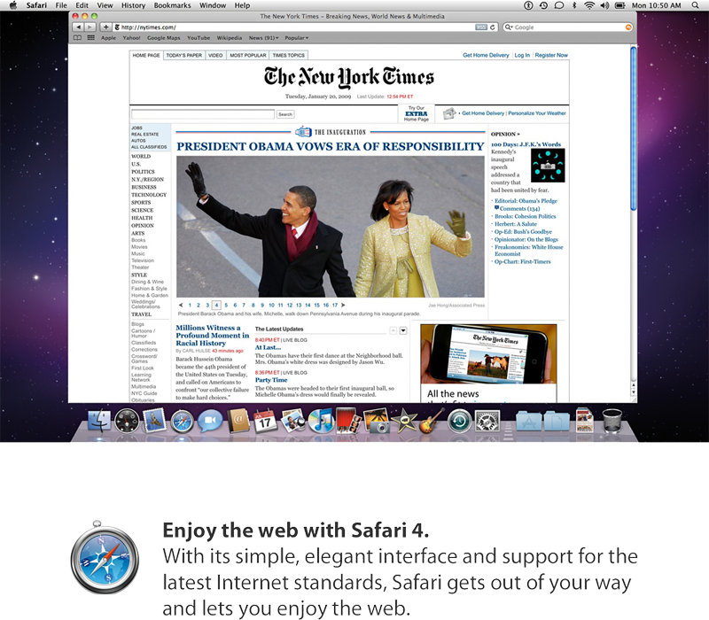 Apple to release Mac OS X Snow Leopard on August 28