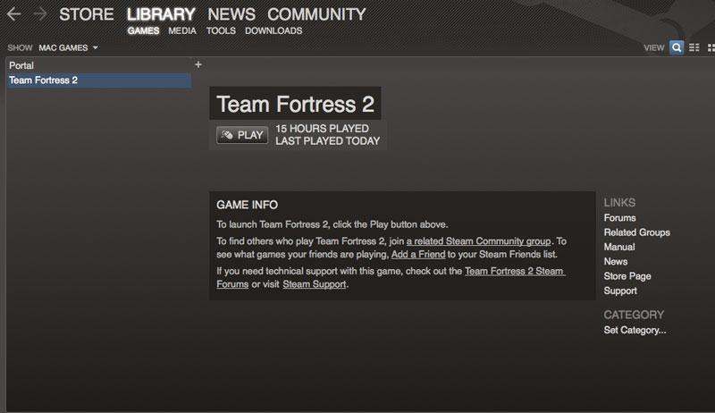 First look: Valve's Steam, Team Fortress 2 and Portal for Mac