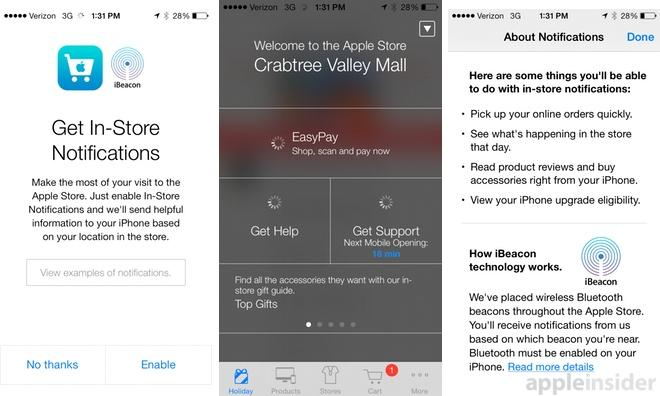 First look: Using iBeacon location awareness at an Apple Store