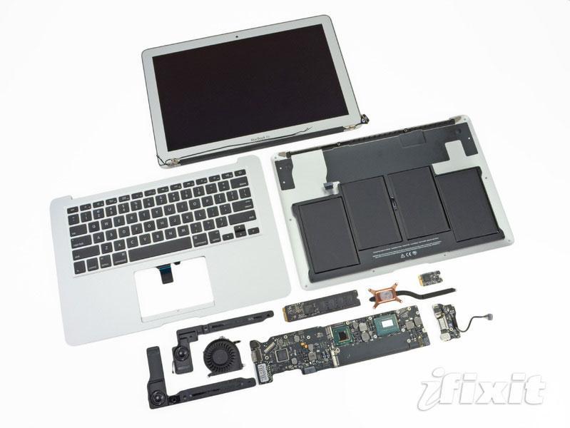 Teardown of 2012 MacBook Air finds revised flash memory connector