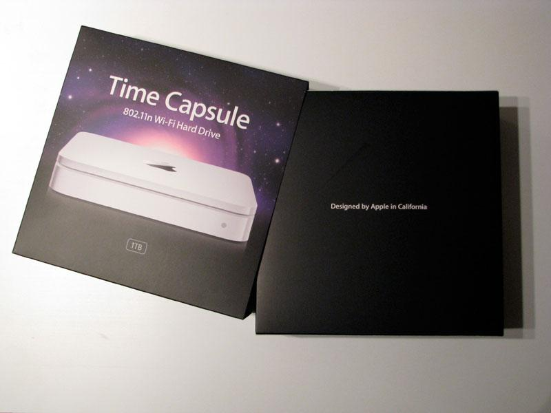 Apple Time Capsule Unboxing And Preview