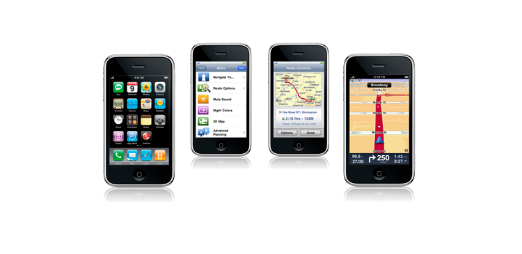 TomTom iPhone app 2