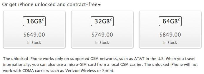 AT&T will allow out-of-contract customers to unlock their iPhone