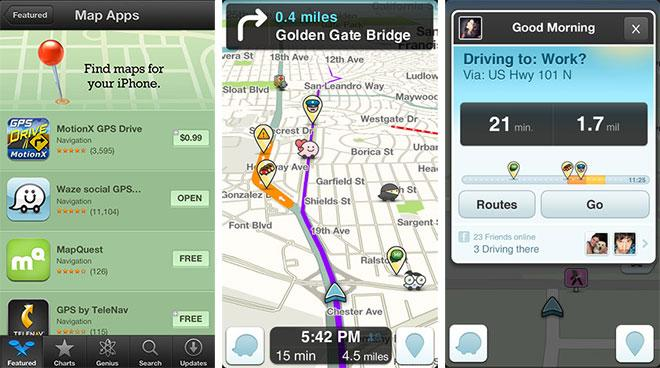 Apple may acquire crowd-sourced traffic and navigation