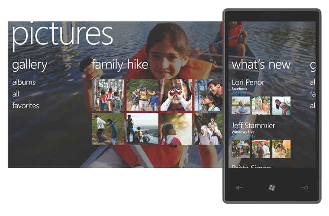 Windows Phone 7 Series Pictures