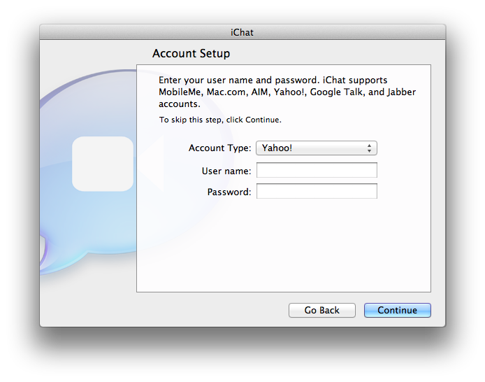 Inside Mac OS X 10 7 Lion: Yahoo Messenger video and